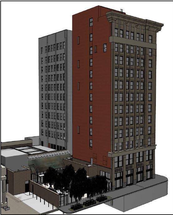 Sitemaps Renderings: Midland Building